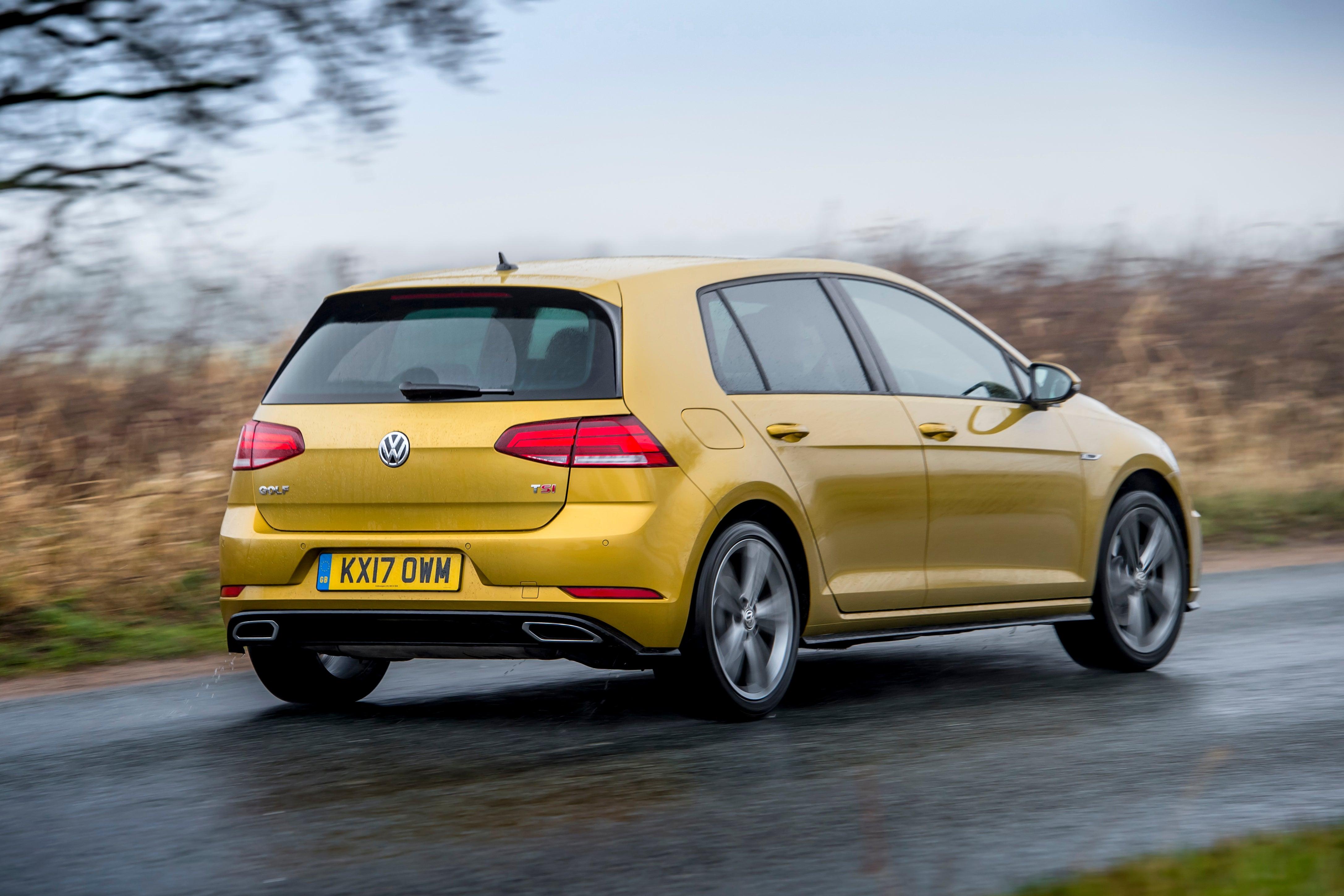 Volkswagen Golf Rear Side View