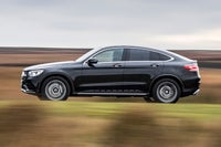 Mercedes GLC Coupe left exterior