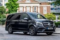 Mercedes V-Class frontright exterior