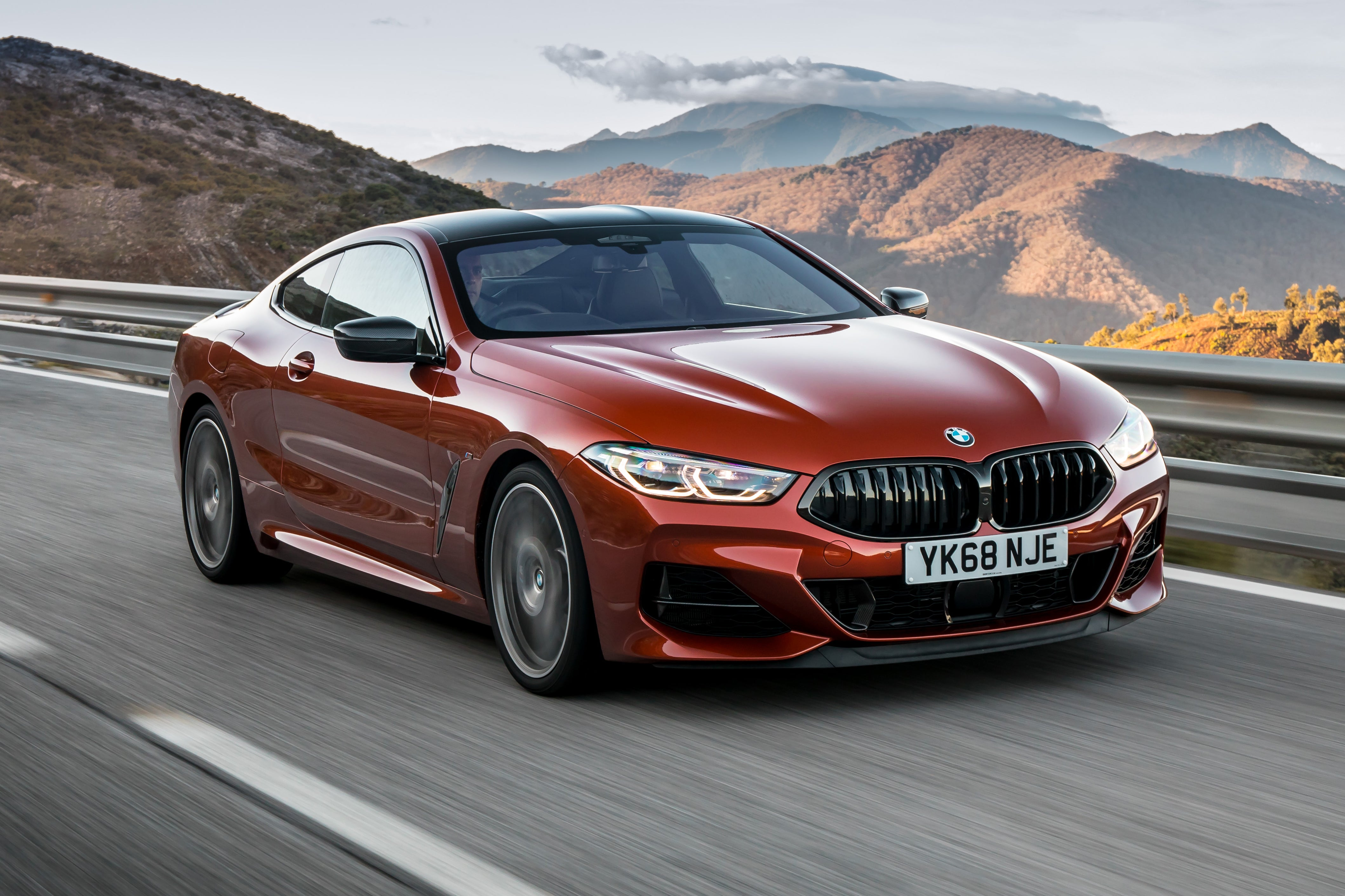 BMW 8 Series Driving Front