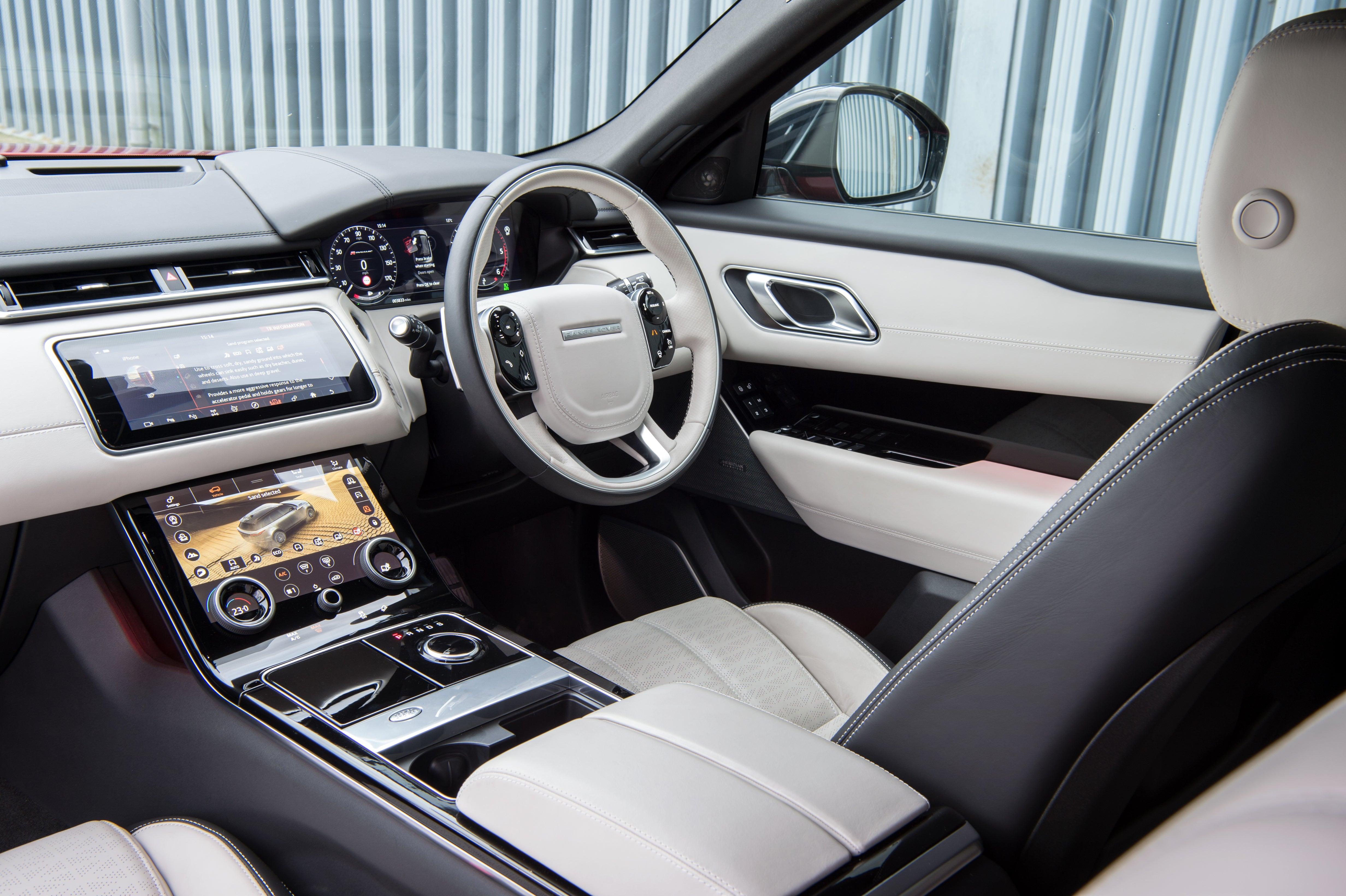 Range Rover Velar front interior
