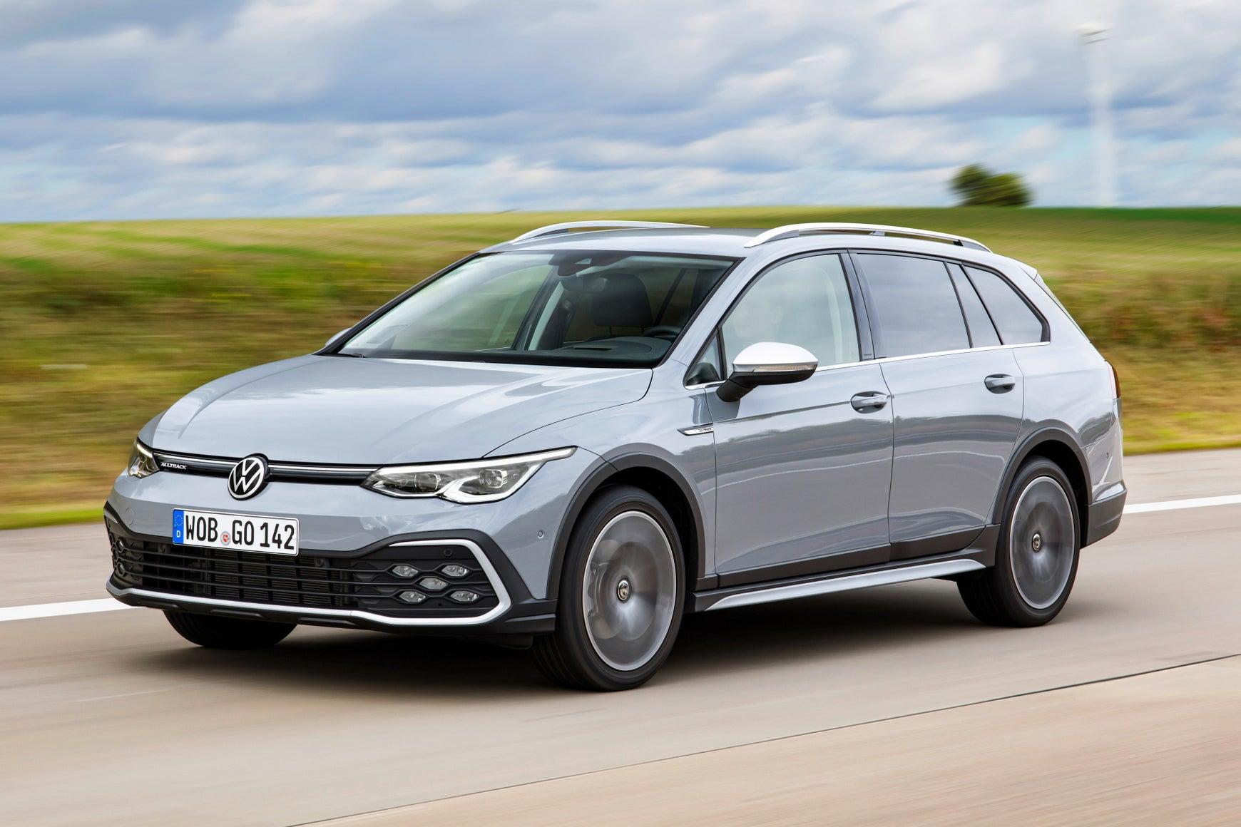 Volkswagen Golf Alltrack grey exterior