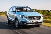 MG ZS EV front right exterior