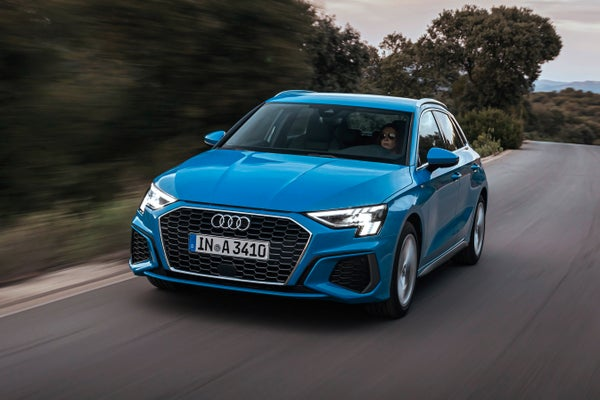 Audi A3 Driving Front