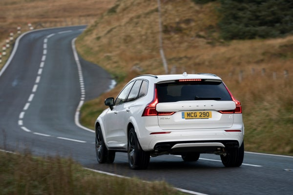 Volvo XC60 Rear View