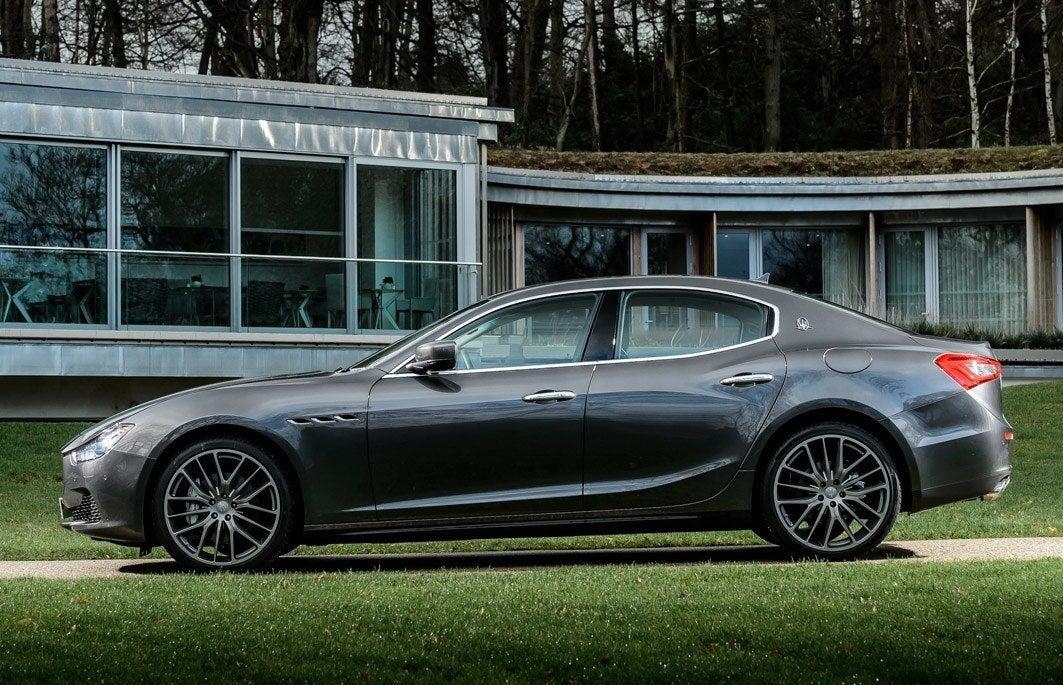 Maserati Ghibli left exterior