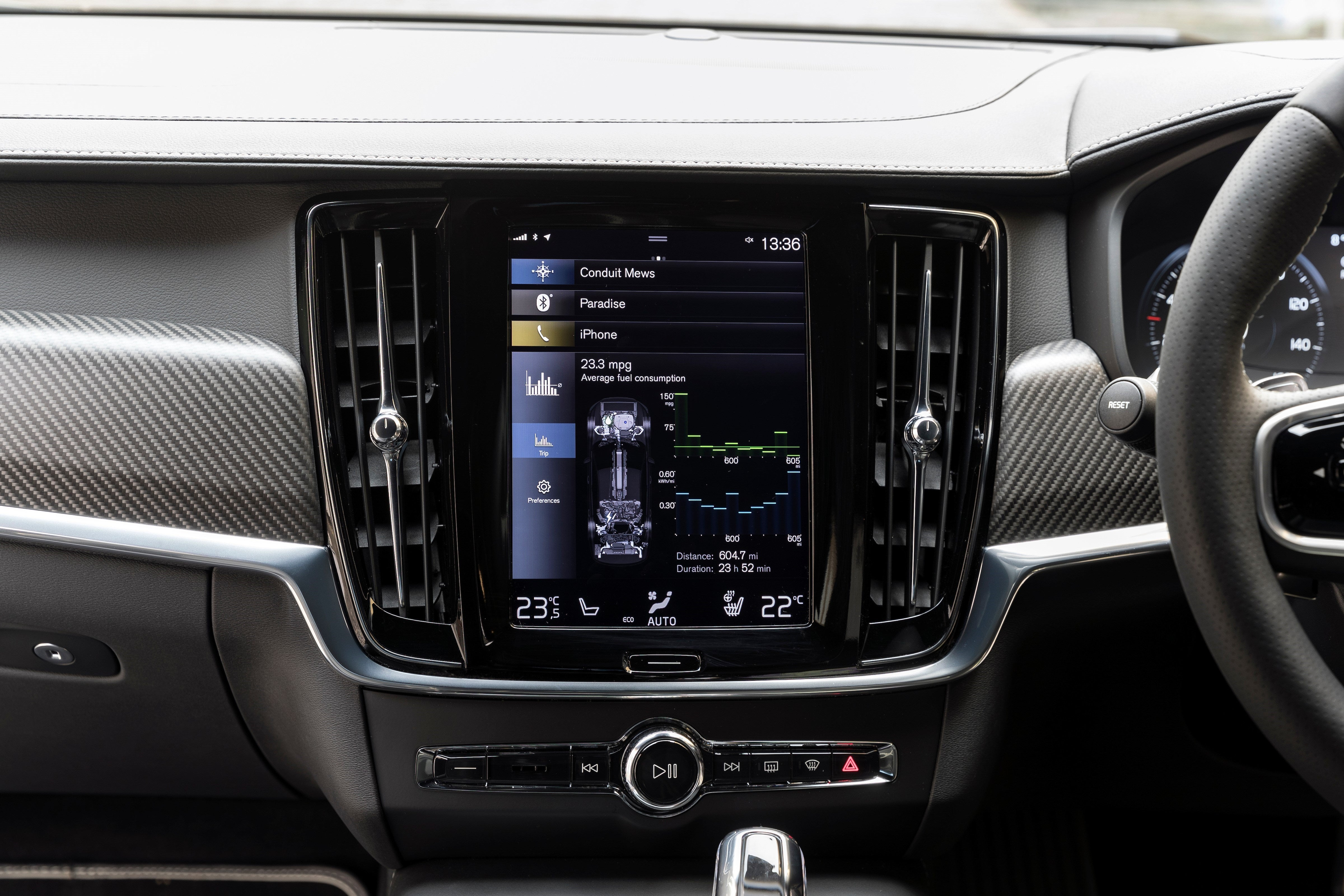 Volvo S90 Electric Infotainment
