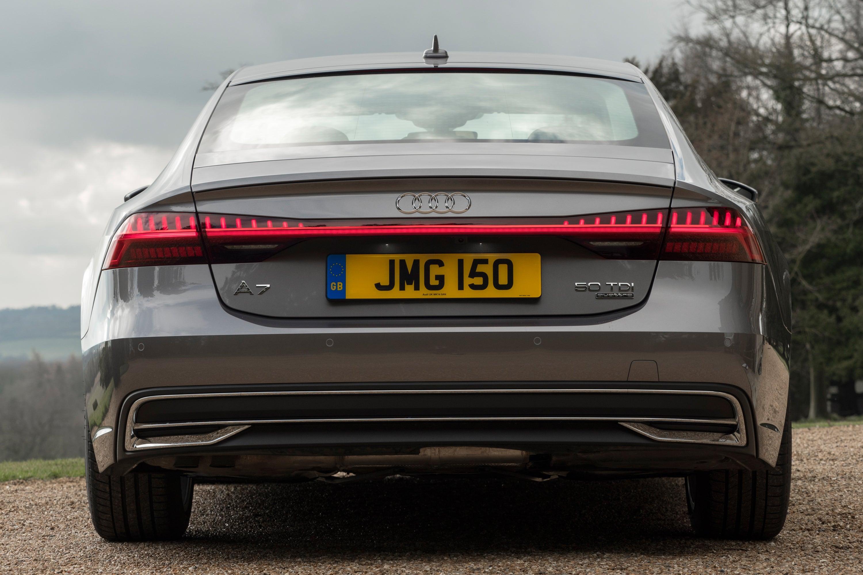 Audi A7 Sportback Exterior Back