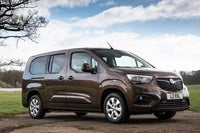 Vauxhall Combo Life Front Side View