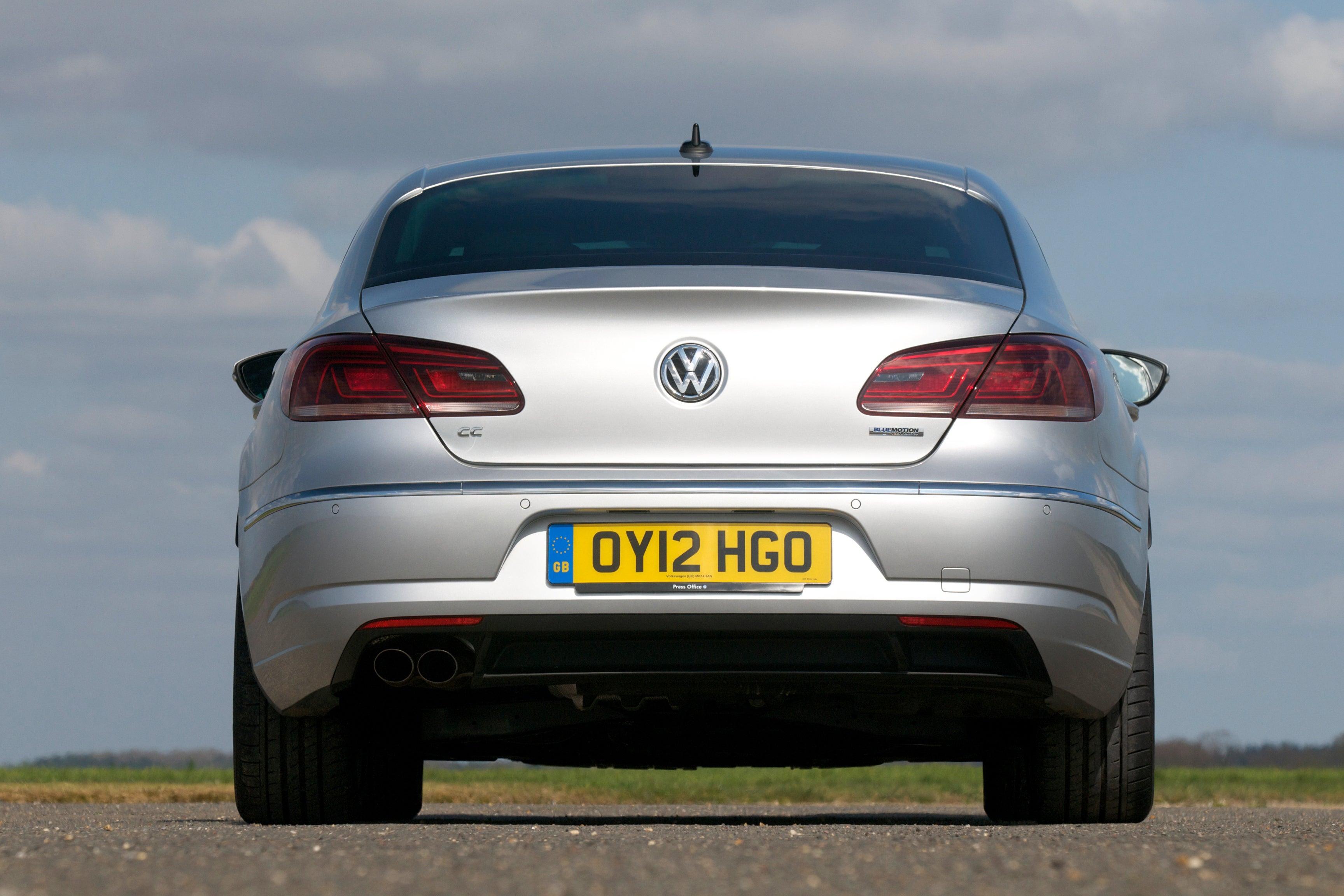 Volkswagen CC Rear View