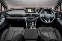 Hyundai Santa Fe front interior