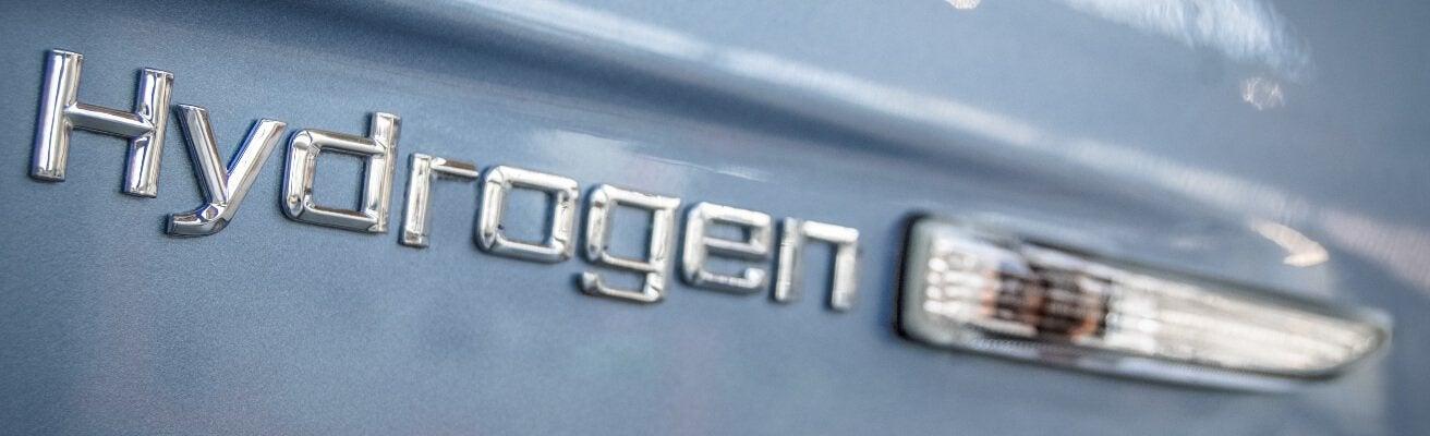 hydrogen car badge