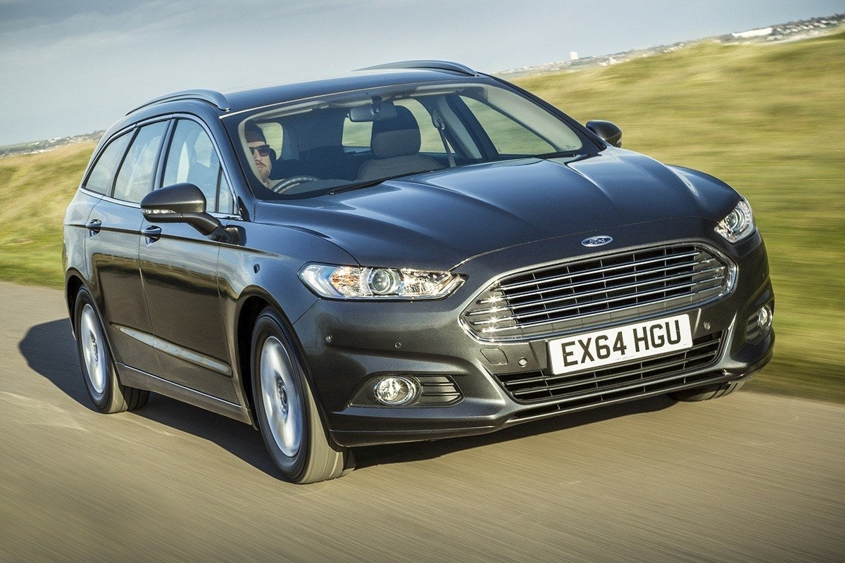 Ford Mondeo Estate Driving