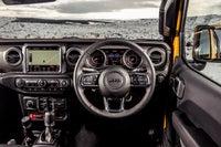 Jeep Wrangler  front interior