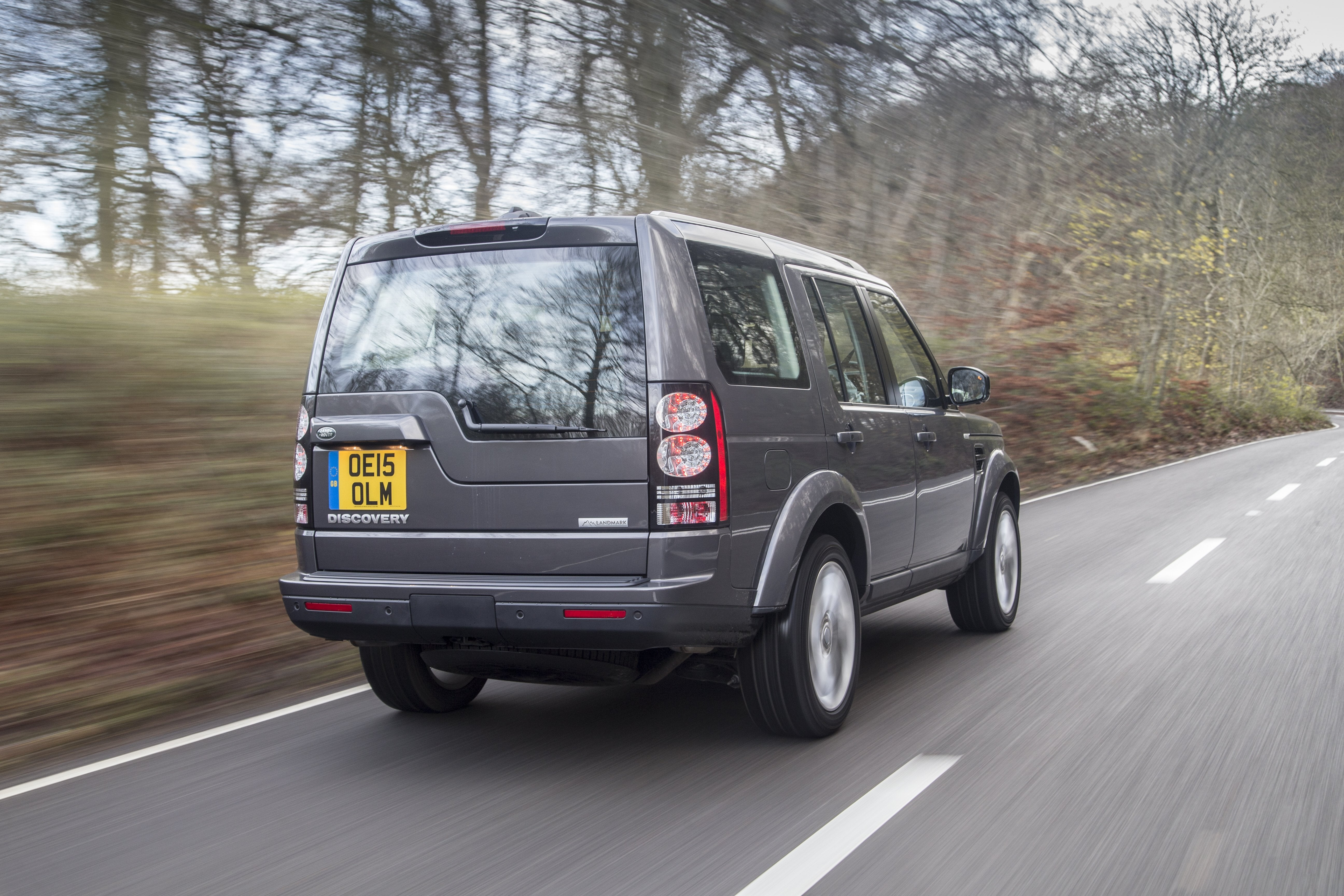 Land Rover Discovery 2009 back exterior