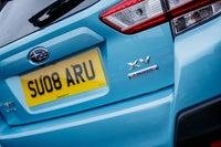 Subaru XV Rear Number Plate