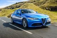 Alfa Romeo Giulia Driving Front