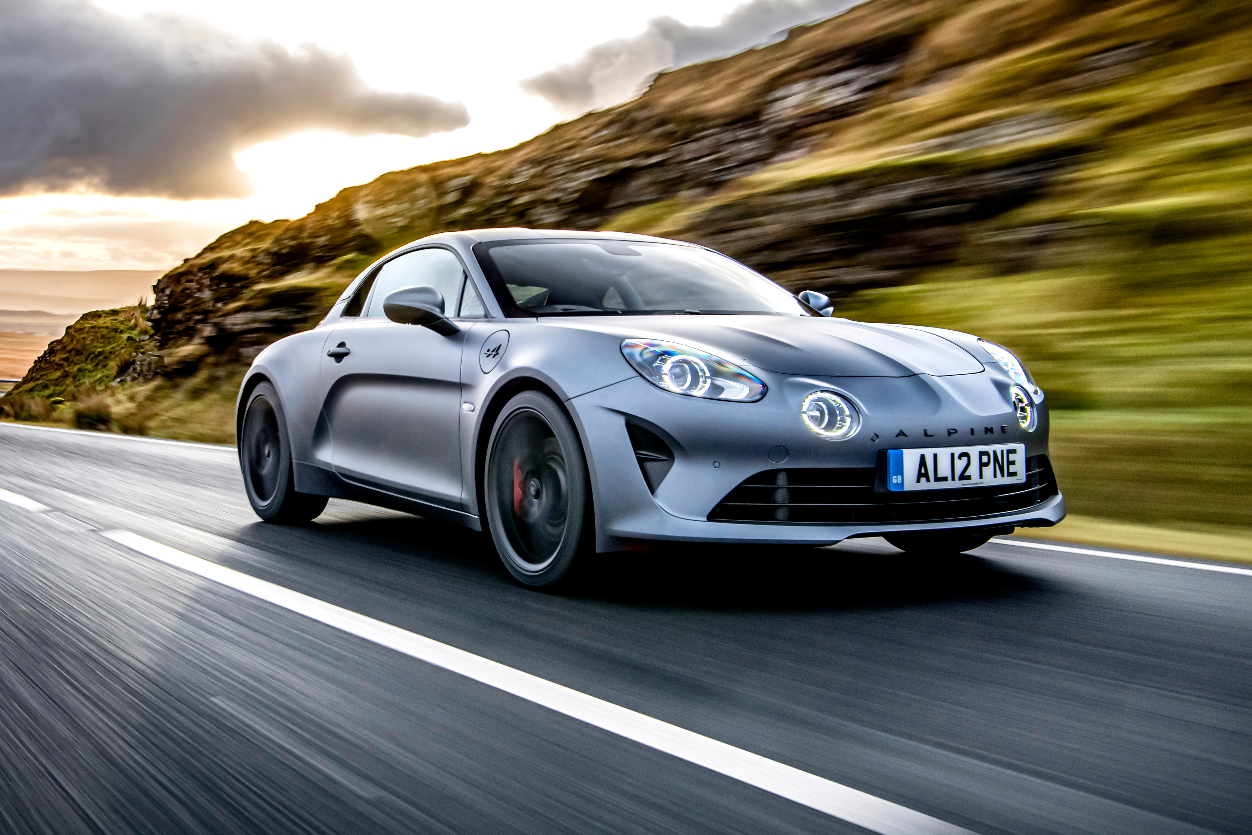 Alpine A110 Driving Side