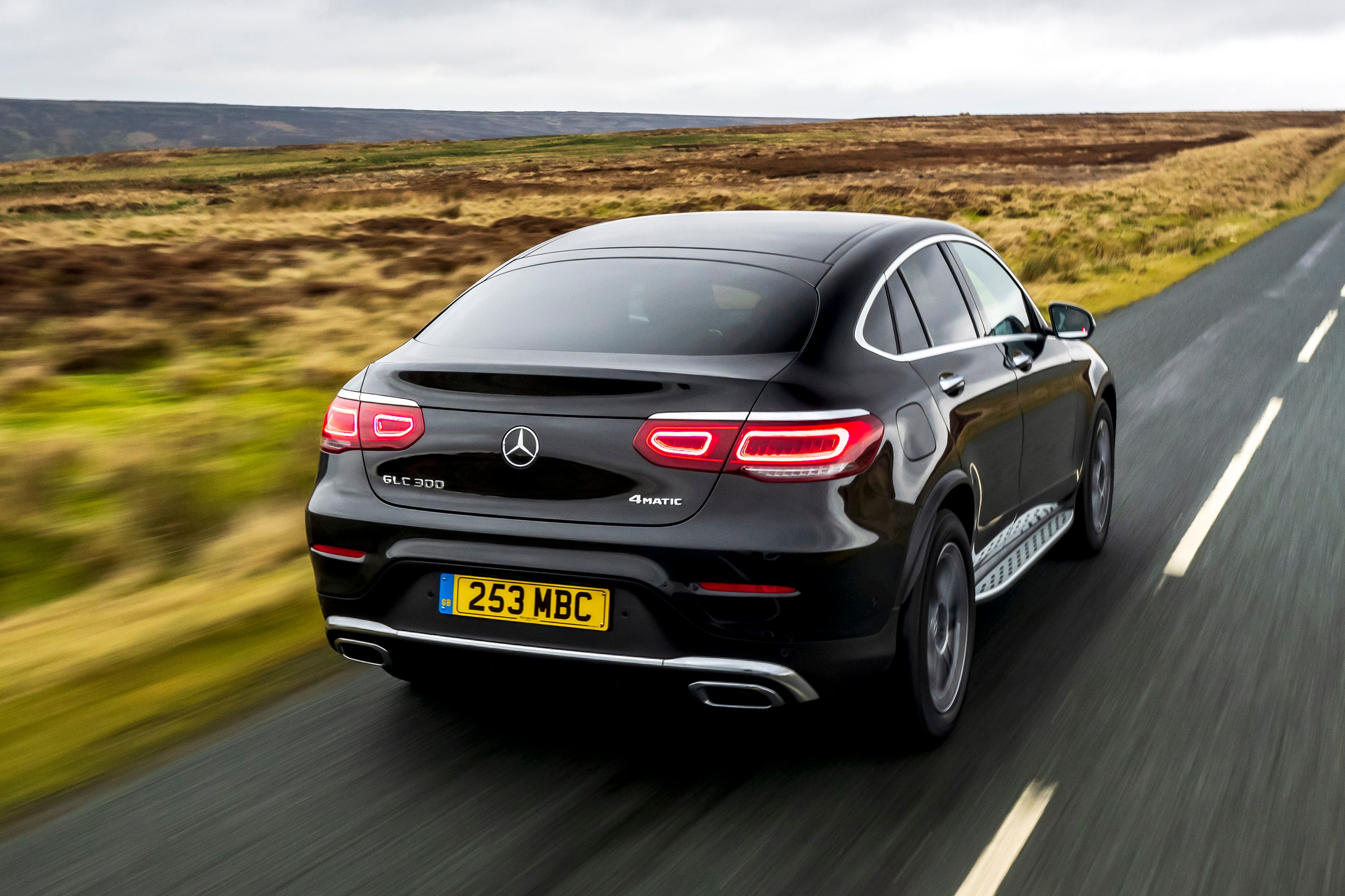 Mercedes GLC Coupe backright exterior