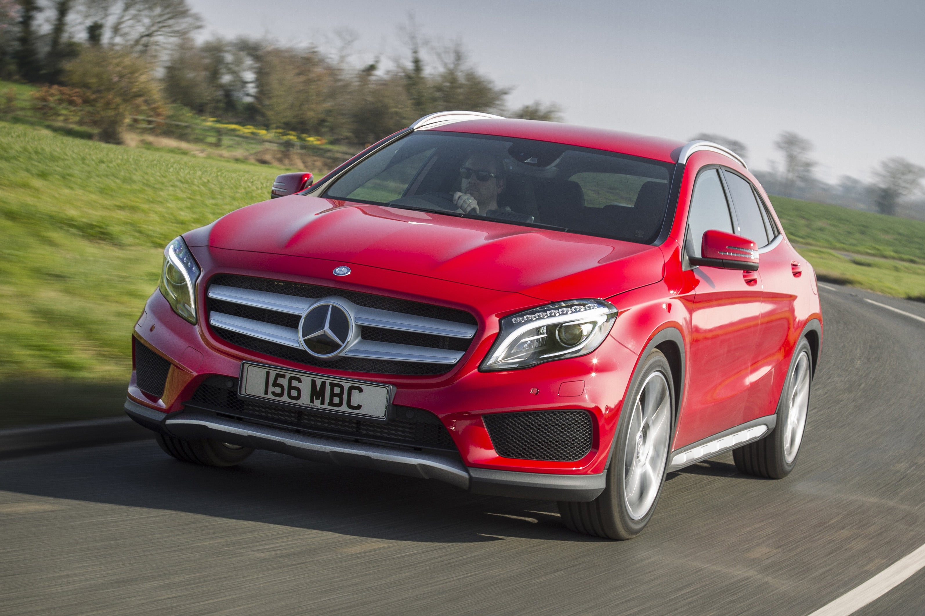 Mercedes GLA 2014 frontleft exterior