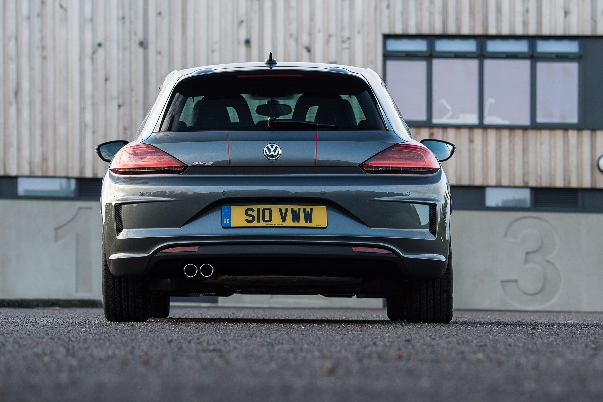 Volkswagen Scirocco Rear View
