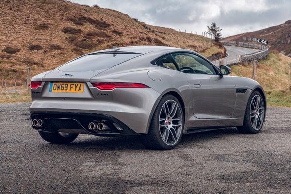 Jaguar F-Type backright exterior