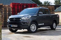 SsangYong Musso Front Side View