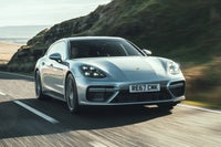 Porsche Panamera Sport Turismo Front View