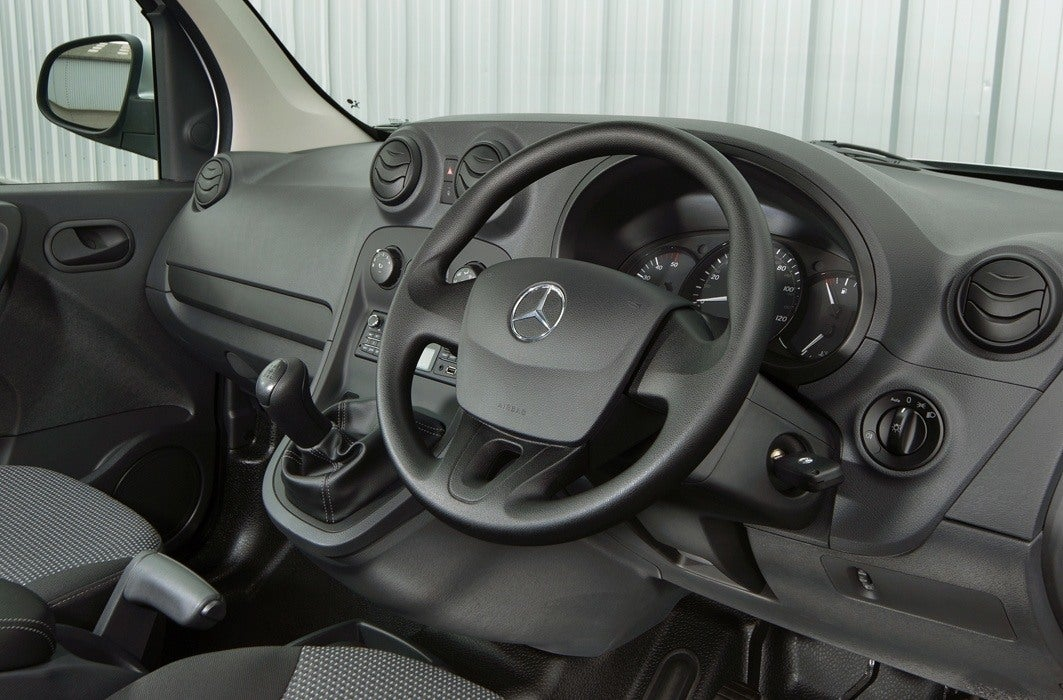 Mercedes-Benz Citan steering wheel