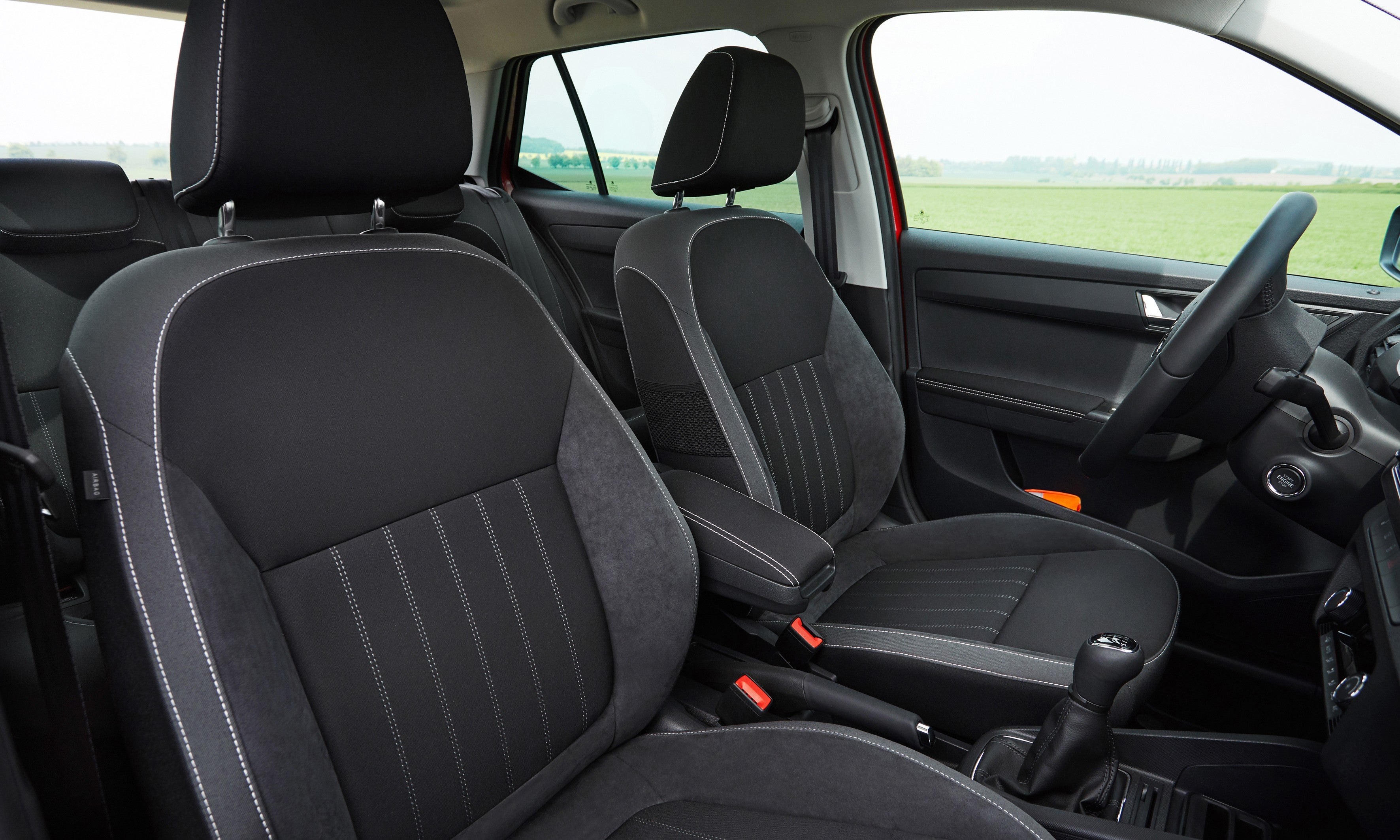 Skoda Fabia Front Car Seats