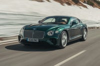 Bentley Continental GT Driving Front
