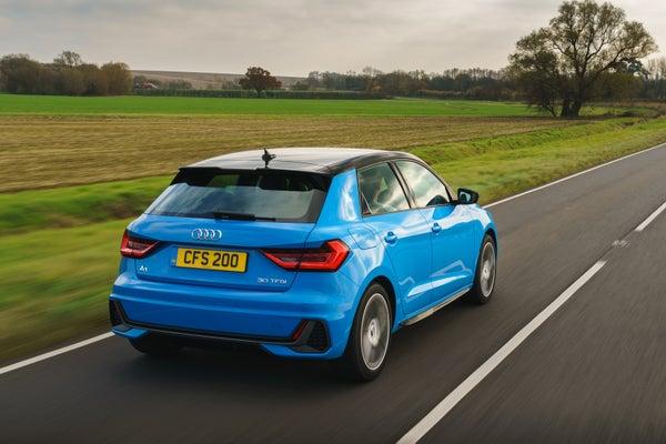 Audi A1 Driving Back