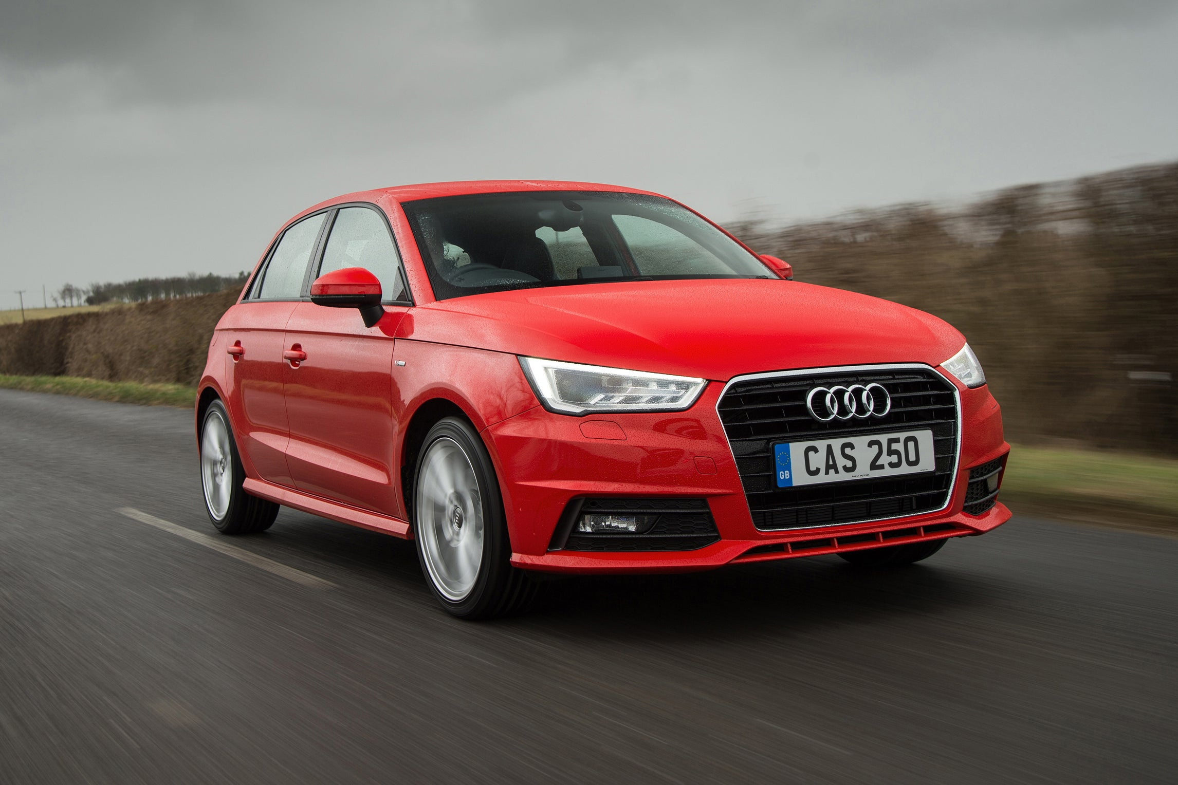Audi A1 Sportback Driving Front