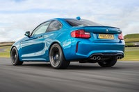 BMW M2 Driving Back