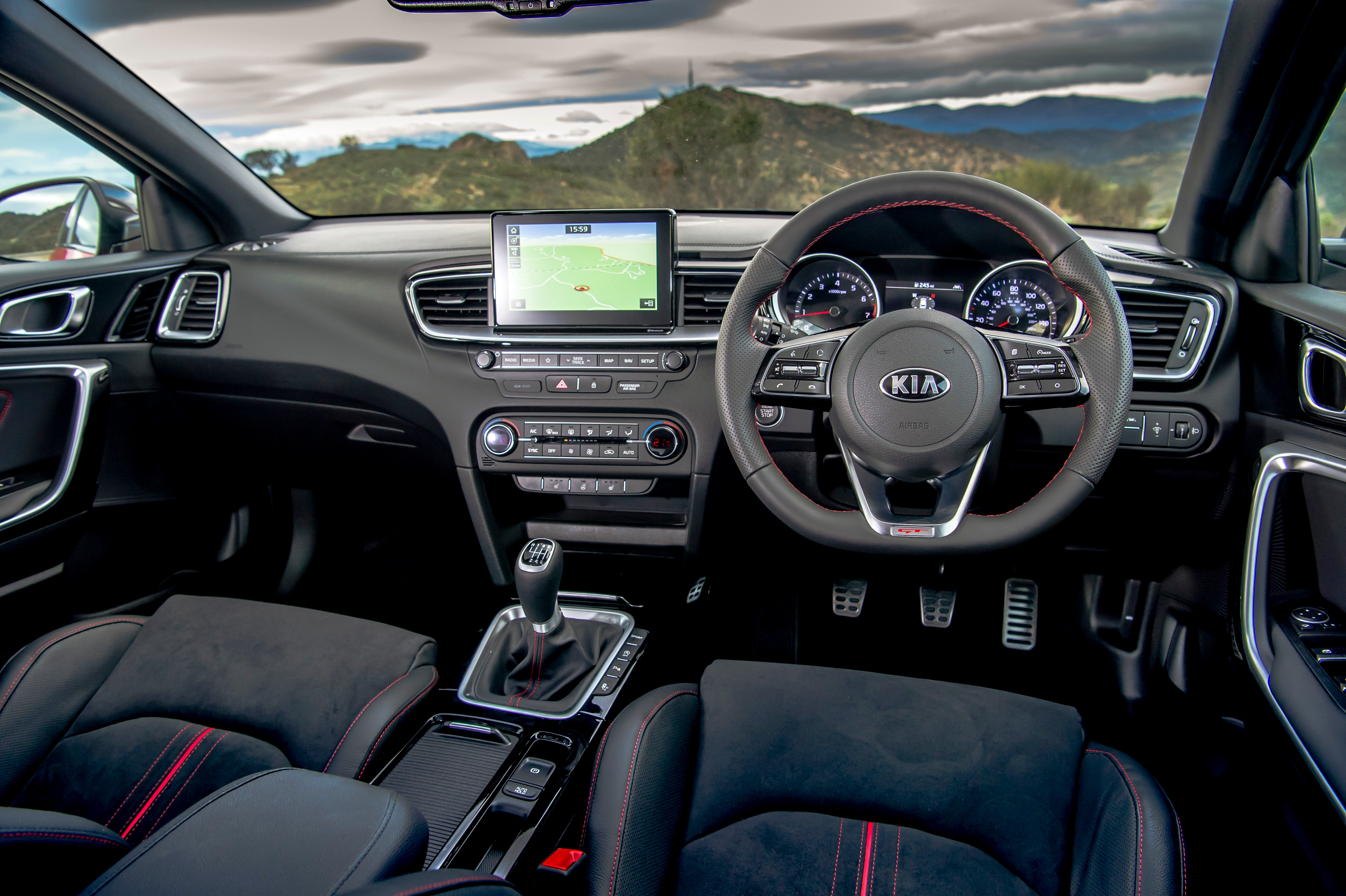 Kia Ceed interior dash