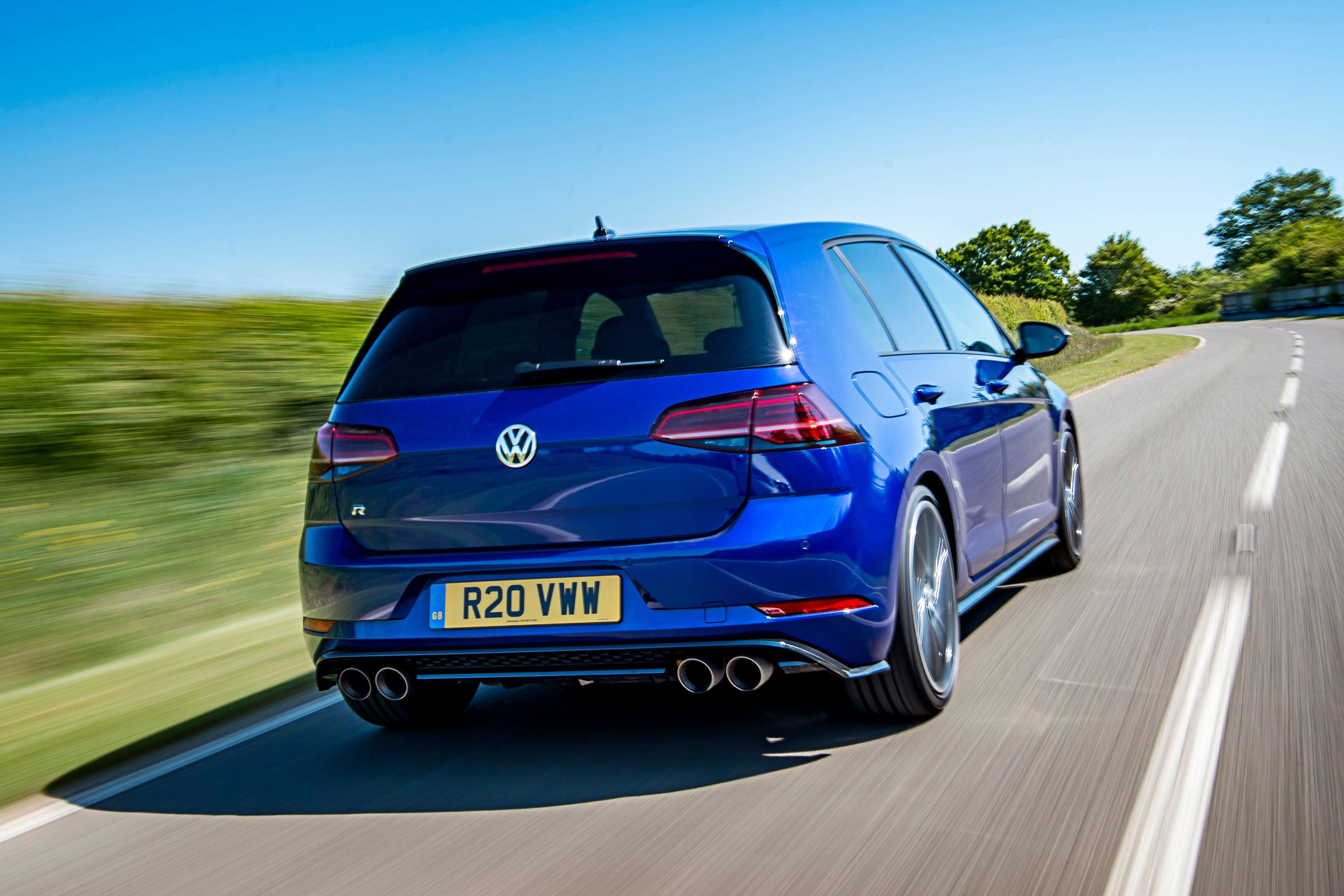 Volkswagen Golf R Rear View