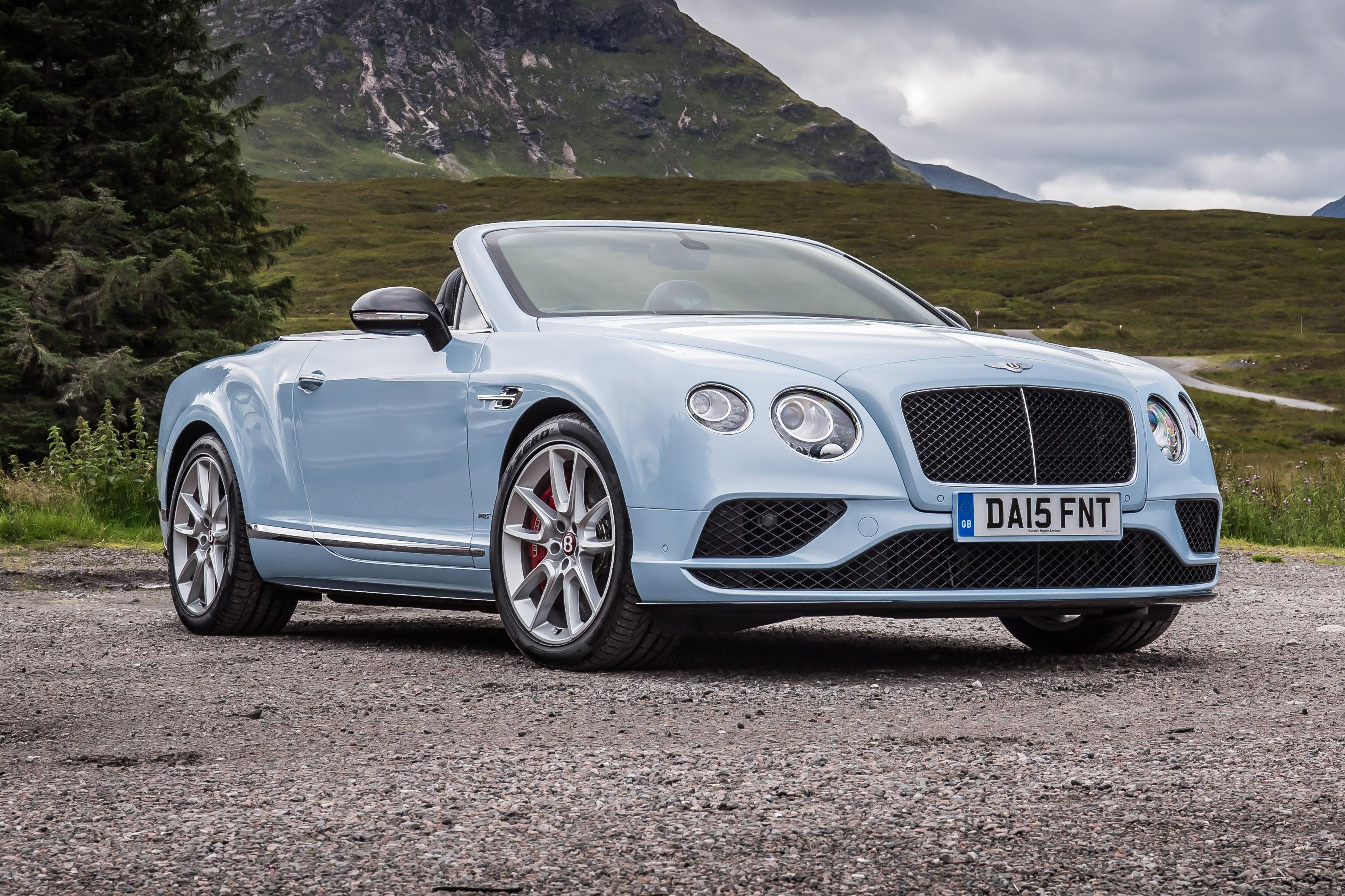 Bentley Continental GTC Exterior Front