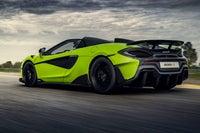 McLaren 600LT rear exterior