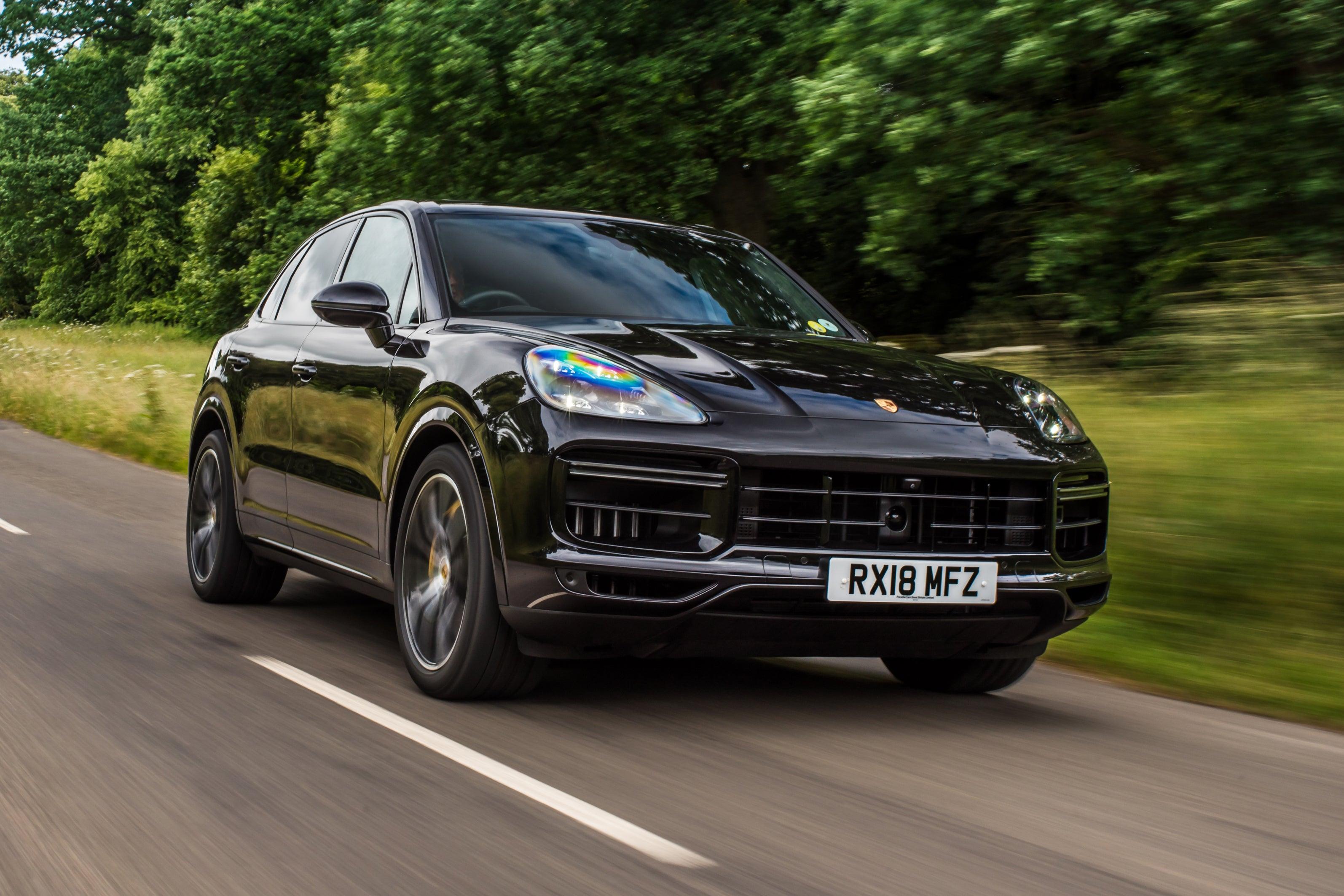 Porsche Cayenne Front View