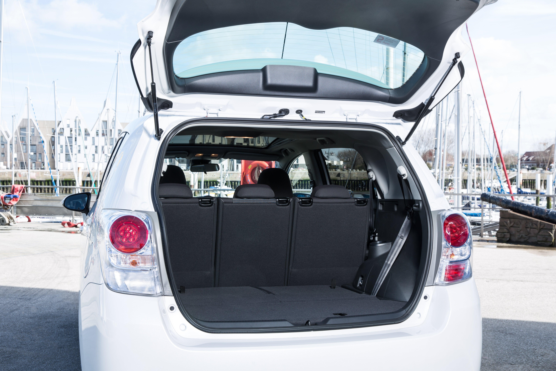 Toyota Verso Bootspace