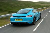 Porsche 718 Cayman Rear View