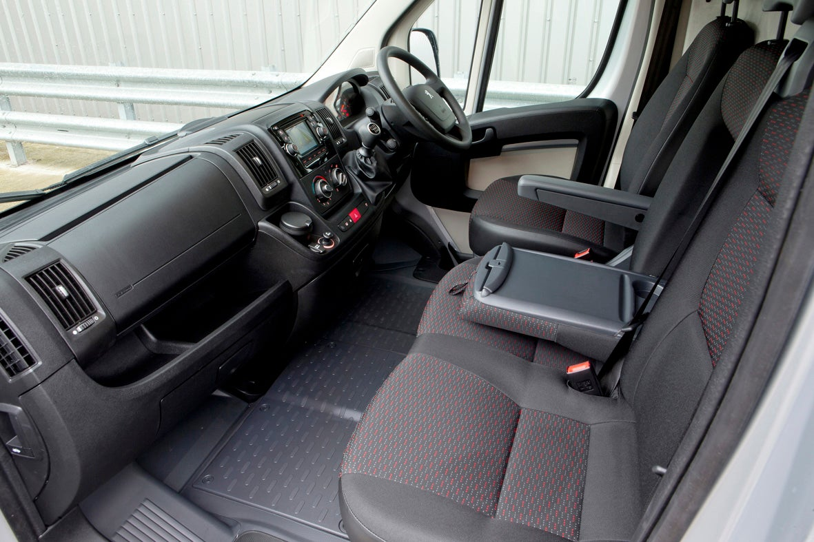 Peugeot Boxer Front Interior