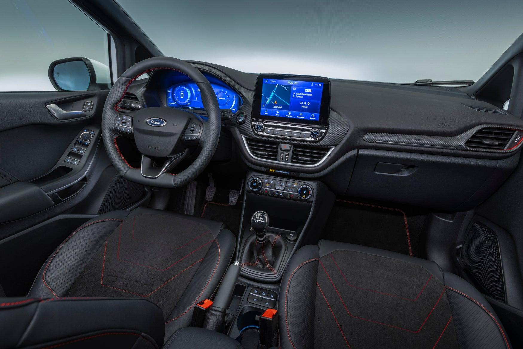 Ford Fiesta 2021 interior