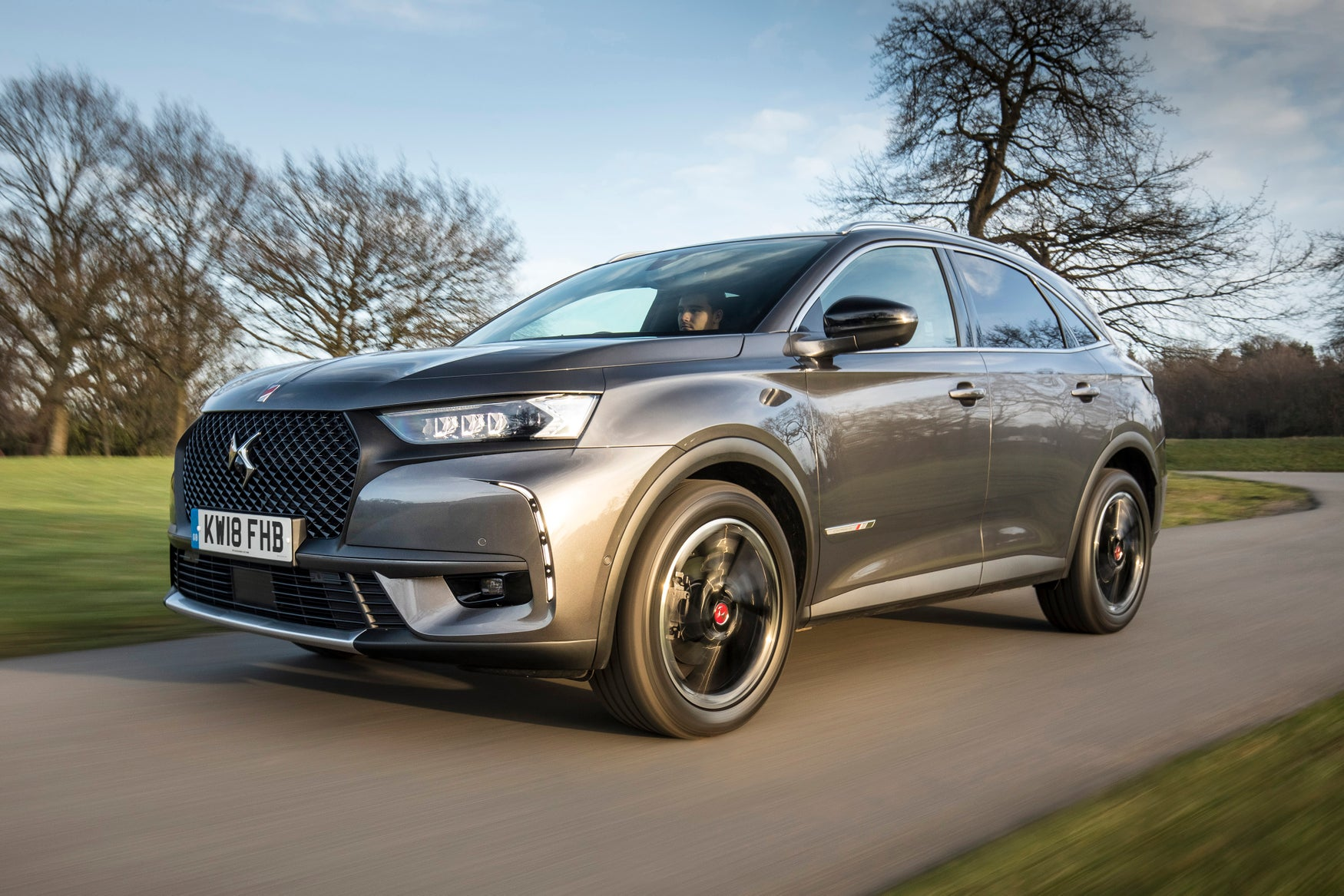 DS7 Crossback Driving