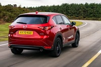Mazda CX-5 rear on road