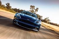 Aston Martin Vanquish Driving Front