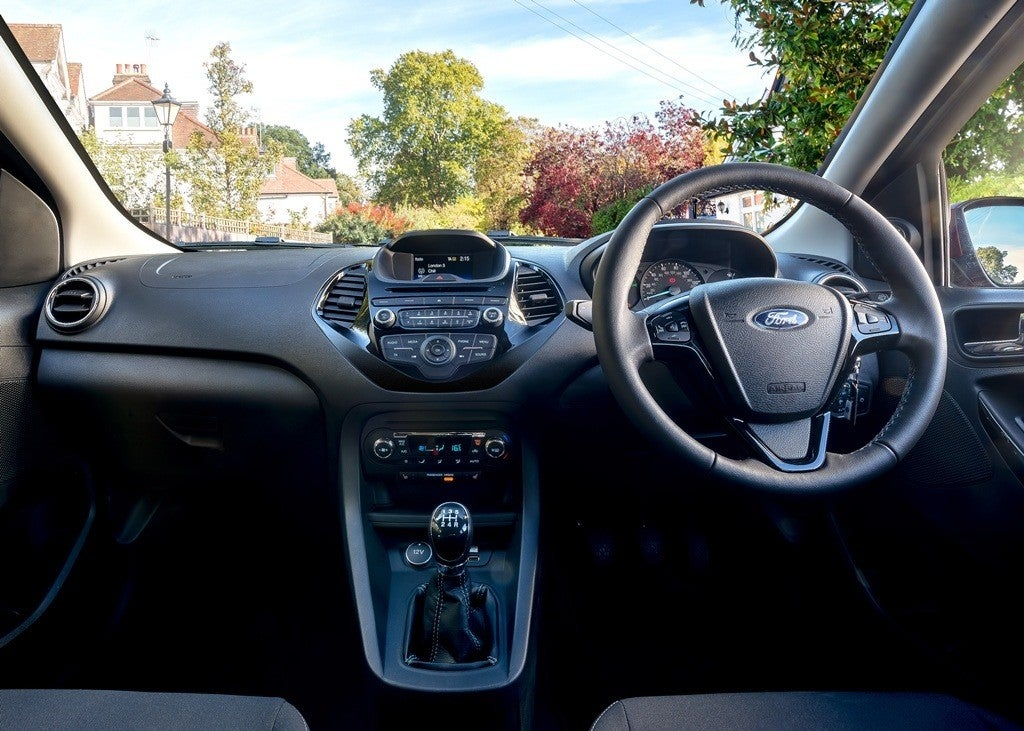 Ford Ka Plus Interior
