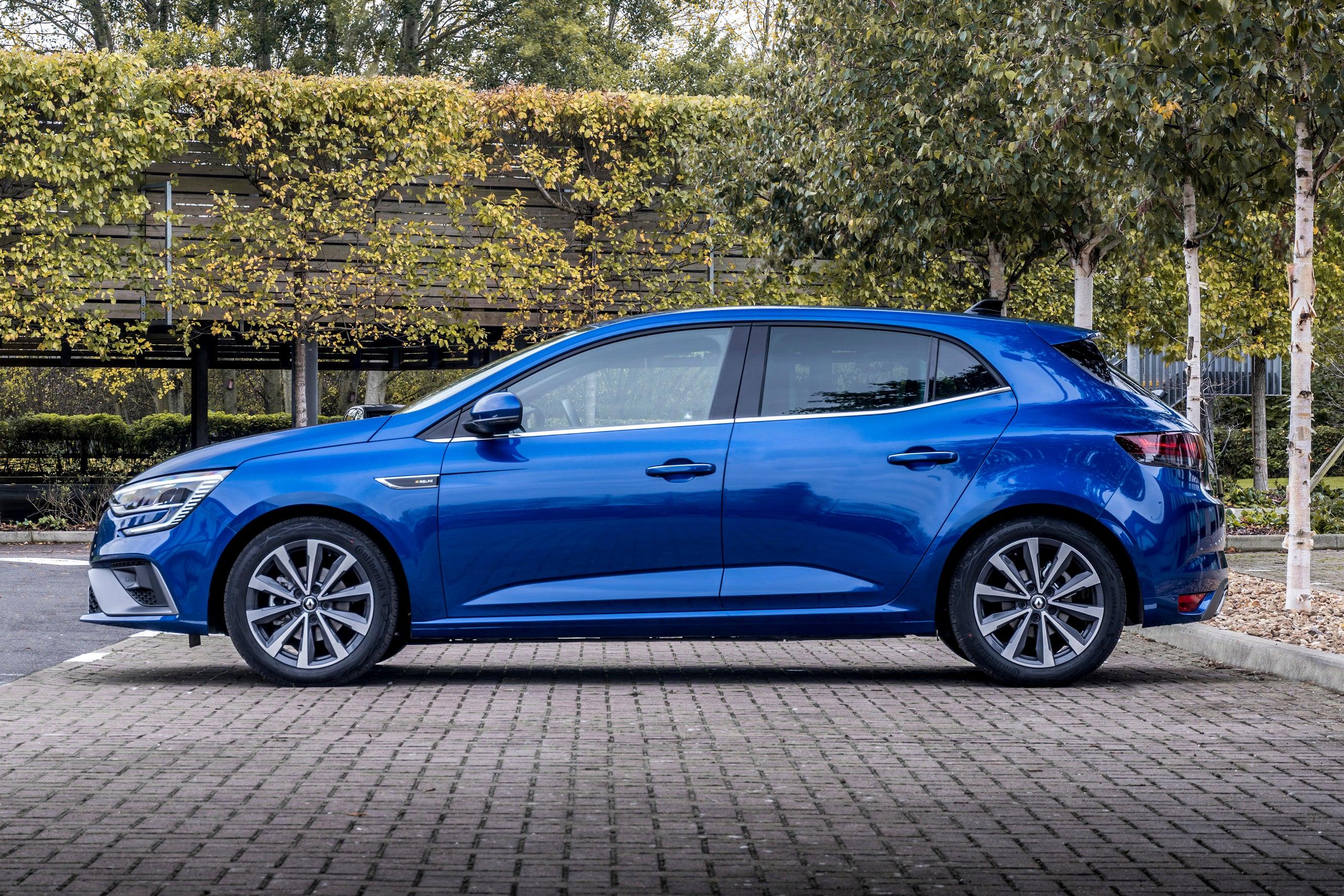 Renault Megane side profile