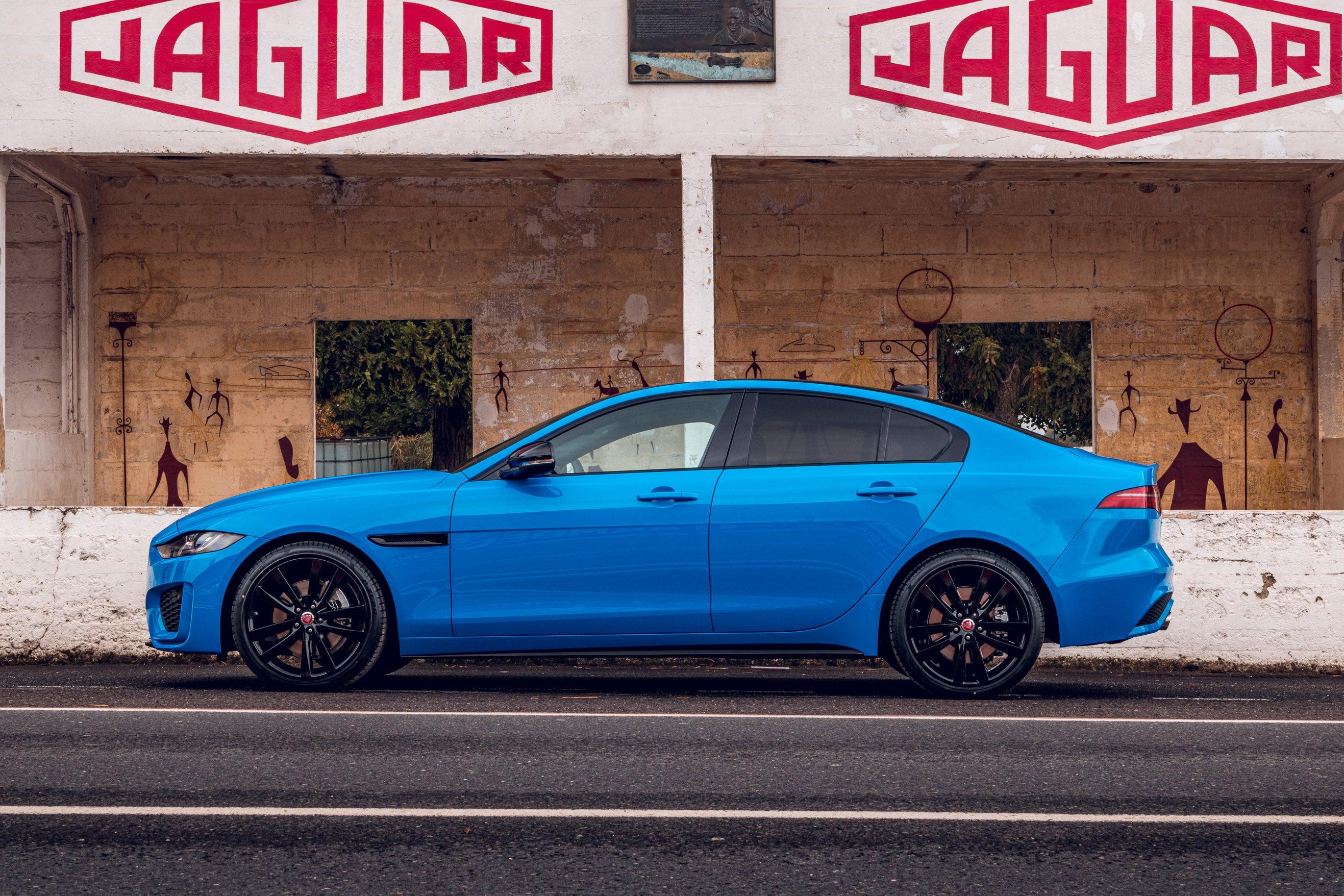 Jaguar XE left exterior