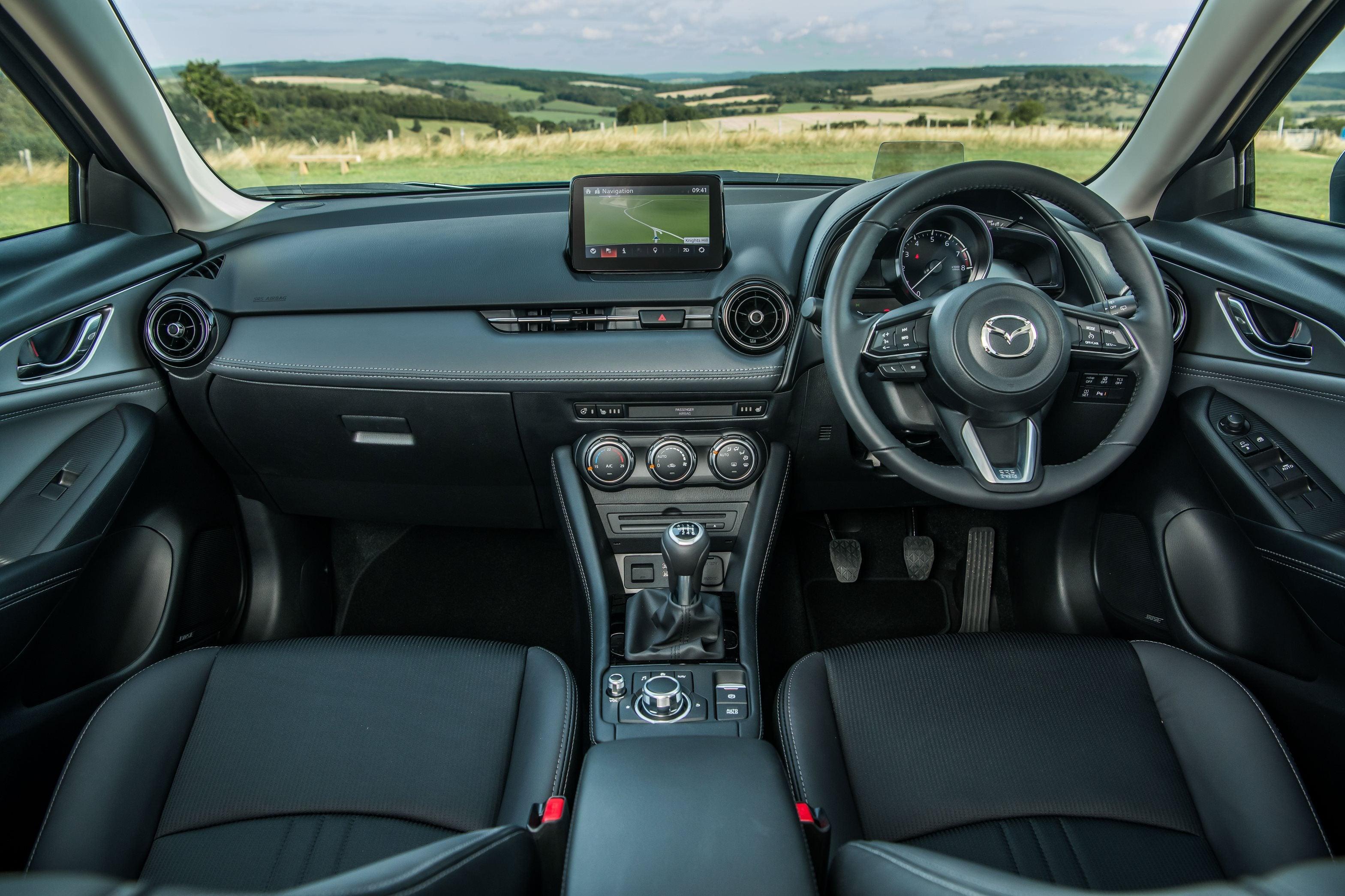 Mazda CX-3 central console
